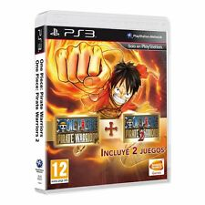 ONE PIECE PIRATE WARRIORS 1 + 2 TEXTOS EN CASTELLANO  NUEVO PRECINTADO PS3