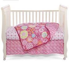 Okie Dokie Starburst Flower 4-Pc Baby Bedding