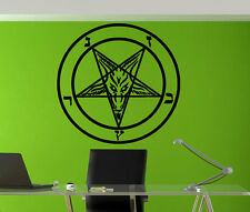 Baphomet enigmatic goat-headed figure Pagan Wall Art Sticker Decal tr419