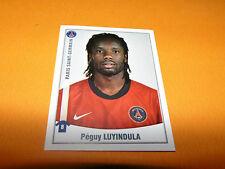 389 PEGUY LUYINDULA PARIS SAINT-GERMAIN PSG PANINI FOOT 2011 FOOTBALL 2010-2011