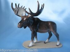 Hagen Renaker Moose on Base Figurine Miniature 03137 FREE SHIPPING New
