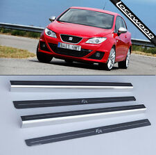 Seat Ibiza FR 2 Door Stainless Sill Protectors Kick Plates Released 2008