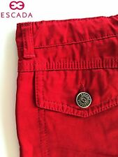 Amazing Escada Girls Red Pants / Jeans - Size: 5 ANS