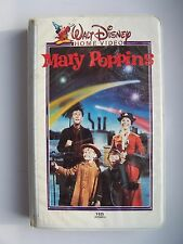 Walt Disney's Home Video Mary Poppins VHS Tape