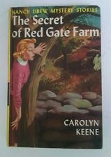 Nancy Drew The Secret of Red Gate Farm vintage yellow hardcover