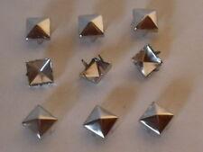 50 Krallenniete Pyramidennieten 3,5 x 3,5mm silber