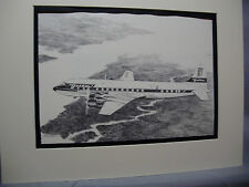 Delta Airlines Douglas DC 7 Prop  From Delta HDQTERS