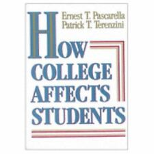 How College Affects Students: Findings and Insights from Twenty Years of Researc