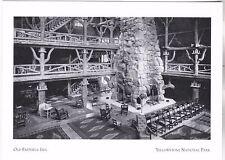 """*Postcard-""""Old Faithful Inn"""" /1910 View/ *Yellowstone National Park (A257-5)"""