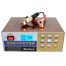 Electric Car Battery Charger Intelligent Pulse Repair Type 12V/24V 100AH New MA