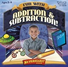 Superstart Fun with Addition & Subtraction  Reinforces Learning Win 8 7 Vista XP