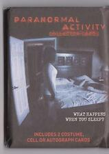 PARANORMAL ACTIVITY COLLECTOR CARDS 5 SEALED PACK OF TRADING CARDS