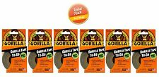 """Gorilla Glue Tape To Go - 1"""" x 30' Handy Roll - Duct Tape, 6 PACK"""
