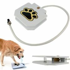 UPGRADE Automatic Dog Water Fountain Sprinkler Dispenser Paw Activated for pets
