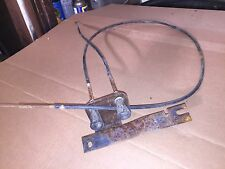 1964-65-66 Ford Pickup fresh air cable and bracket