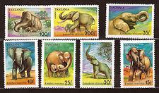 TANZANIE Série complète #7926798 T.neufs: Elephants avec ou sans défense E56