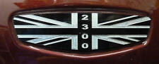 Triumph Rocket III Classic Touring Roadster Side Panel Logo Plate Alu Union Jack
