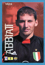 Cards-Figurina/Stickers TOP CALCIO 2000 MC - n. 9 - ABBIATI - MILAN