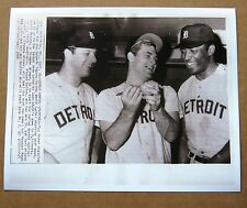1968 World Series Detroit Tigers Starting Pitching photo: Lolich, McLain Wilson