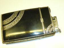 EVANS AUTOMATIC LIGHTER / CIGARETTE CASE COMBINATION - 1950 - U.S.A. - RARE