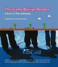 The Game Design Reader: A Rules of Play Anthology (2005, Hardcover) ships free