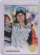 SUPER RARE 2014 TOPPS OLYMPIC LOUIE VITO GOLD RAINBOW CARD #87 ~ SNOWBOARDING