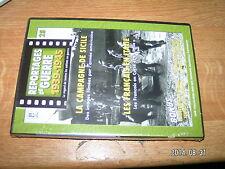 ** Reportage de Guerre DVD seul n°28 Campagne Sicile Français en Italie Hymne
