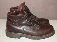 RED WING 29265 Steel Toe Brown Leather Ankle Work Boots Men's Size 10 B USA Made