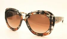 Chanel 5323 1521/S9 Butterfly Multi Brown Polarized Runway Sunglasses NWC