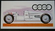 Auto Union 4.3 Litre Super Charged Racing Car    Vintage Card  # VGC