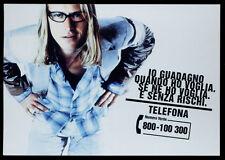 cartolina pubblicitaria PROMOCARD n.2214 NUMERO VERDE GUADAGNI SEAT