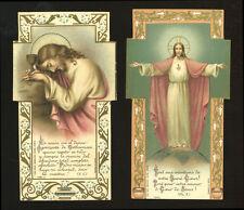 lotto santini-holy cards lot-lot images pieuses-konvolut heiligenbildichen n.396