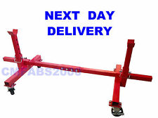 900kg Mobile Axle Stands Car Mover Movable Car Jacks Engine Cradle Turntable