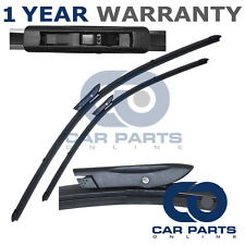 "FOR RENAULT MEGANE COUPE 2009- DIRECT FIT FRONT AERO WIPER BLADES PAIR 24"" + 16"""