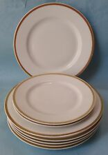 PMS BAVARIA Otto Reinecke China TURIN Vintage Tableware GOLD BAND DINNERWARE SET