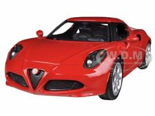 ALFA ROMEO 4C RED 1/24 DIECAST CAR MODEL BY MOTORMAX 79320