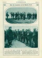 1917 Gas Mask Inspection Canadian Battalion Western Front