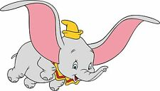 Exterior Vinyl Dumbo Elephant  Car Decals Cartoon Sticker x 2 Handed