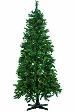 7.5' Cashmere Mixed Pine Artificial Christmas Tree w/ Multi-Color Lights