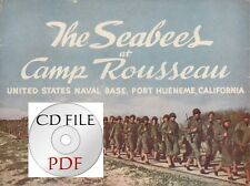 CD File  The Seabees at Camp Rousseau Naval Base Port Hueneme California Color