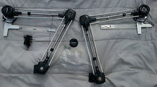 Mutoh Track Drafting Machine Sketch Made in Japan Set of 2? AS-IS FOR PARTS