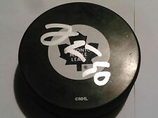 JUSSI RYNNAS Signed TORONTO MAPLE LEAFS PUCK AUTO COA