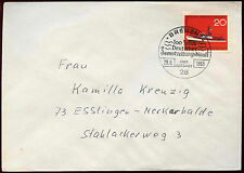 West Germany 1965 Sea Rescue Service FDC First ay Cover #C34408