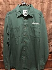 REMMINGTON RIFLES ~ RARE ~ Mens Large ~ Long Sleeve Uniform Shirt