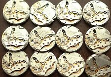 12 pcs Man's Watch Movements 22 mm (23 Jewels) Raketa USSR Steampunk Arts