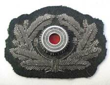 German Wreath Metal cockade Army Officers Aluminium Heer Visor Cap Hat WW2 Aged