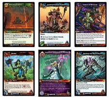 WORLD OF WARCRAFT TCG : Betrayal of the Guardian COMPLETE MASTER SET MINT