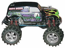 NEW Parma 1/10 Grave Digger Painted Body 10165P