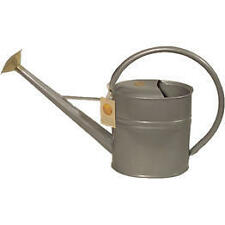 Bosmere Haws Slimcan 8 liters Metal Outdoor Watering Can  Titanium - V135 NEW
