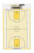 "NEW Champion Dry Erase 2 Sided Basketball Coaches Play Board & Marker 11""x16"""
